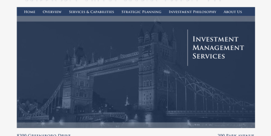 Website redesign for Mission Capital Management to bring the quality of their website in line with their comprehensive investment management services.